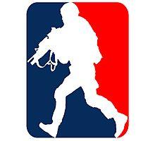 Major League Soldier! Photographic Print