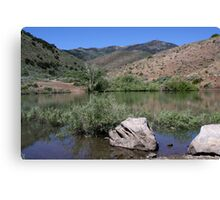 Peavine Pond,Peavine Mountain,Reno,Nevada USA Canvas Print