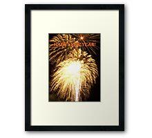 ~ HAPPY NEW YEAR ~ Framed Print
