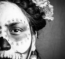 Day of the Dead Frida by LaEsperanza