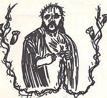 Jesus Christ by SteveHanna