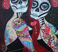 Two Senoritas by Laura Barbosa