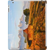 Tetons Old Barn iPad Case/Skin