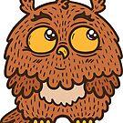 Cute owl by BoYusya