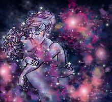 Cosmic Love by Flamingo-Girl