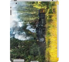 Steam train iPad iPad Case/Skin