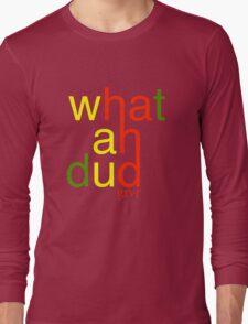 WHATAHDUD Long Sleeve T-Shirt