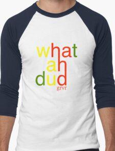 WHATAHDUD Men's Baseball ¾ T-Shirt