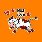 Mad Cow by Maria  Gonzalez