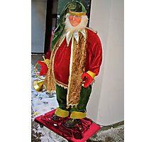 Christmas Elf Photographic Print
