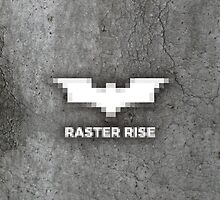 Raster Rise 8-Bit Texture by RedRobot