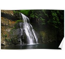 Tranquil Falls Poster