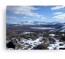 White Lake,Reno,(Cold Springs),Nevada Canvas Print