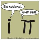 Math Geek Shirt - pi vs i by mightywombat
