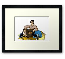 Ugly and the Beast Framed Print