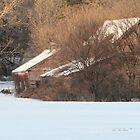 Cabin in the Snow by Leann  Rardin