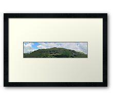 Lingmoor And The Langdales Panorama Framed Print