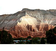 Colored Mountain in Kodachrome State Park Photographic Print
