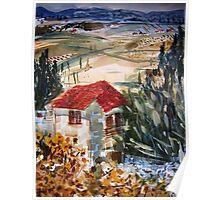 Massa Maritima village view Poster