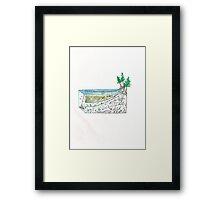 Abstract Set Net Bonsai Framed Print