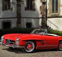 Mercedes 300 SL Roadster 1957 #1 by Stefan Bau