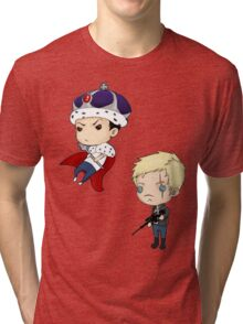 Moriarty and Moran chibis Tri-blend T-Shirt