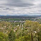 Tamworth from the Lookout by Ian Fraser