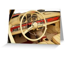Mercedes 300 SL Roadster 1957 #4 Greeting Card