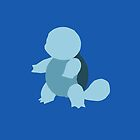 Minimalist Squirtle Design by emre801