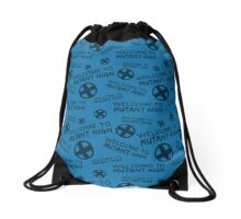 Welcome to Mutant High - Blue Drawstring Bag