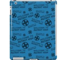 Welcome to Mutant High - Blue iPad Case/Skin
