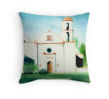 Mission San Luis Rey Dreamy Throw Pillow