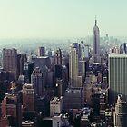 Manhattan Sunrise, Fine Art Photography New York City by Randy  Le'Moine