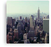 Manhattan Sunrise, Fine Art Photography New York City Canvas Print