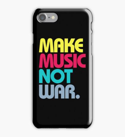 Make Music Not War (Venerable) iPhone Case/Skin
