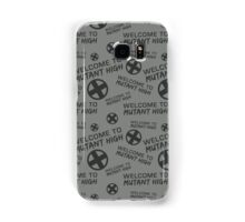 Welcome to Mutant High - Grey Samsung Galaxy Case/Skin