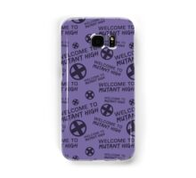 Welcome to Mutant High - Purple Samsung Galaxy Case/Skin