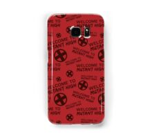 Welcome to Mutant High - Red Samsung Galaxy Case/Skin