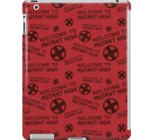 Welcome to Mutant High - Red iPad Case/Skin