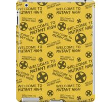 Welcome to Mutant High - Yellow iPad Case/Skin