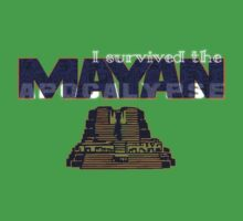 i survived the mayan apocalypse  Baby Tee