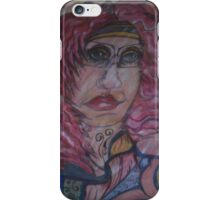 Lady Thoughtful  iPhone Case/Skin