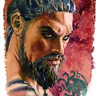 Game of Thrones: Drogo by kenmeyerjr
