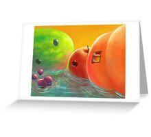 A Fruity Getaway Greeting Card