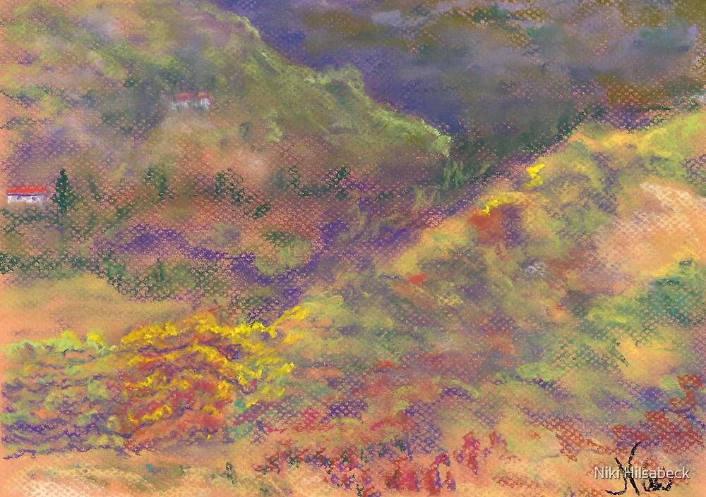 Patchwork Hills (Pastel) by Niki Hilsabeck