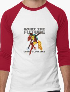 what the future used to look like Men's Baseball ¾ T-Shirt