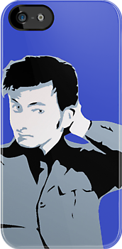 David Tennant iPhone Case by emre801