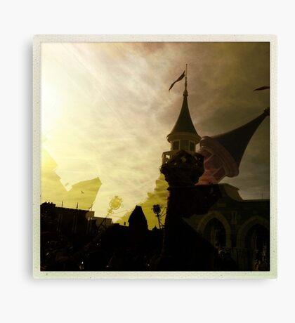 Turret Canvas Print