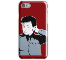 David Tennant iPhone Case Red iPhone Case/Skin