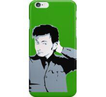 David Tennant iPhone Case Green iPhone Case/Skin